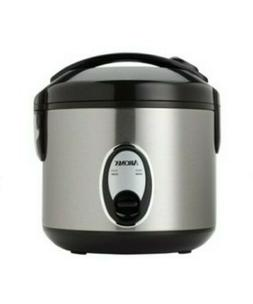 NEW IN BOX: AROMA RICE COOKER/ FOOD STEAMER: 2-8 CUPS