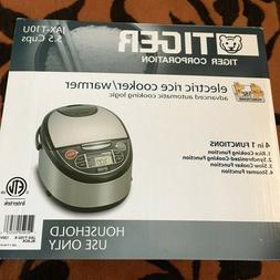 New Tiger Japan JAX-T10U-K 5.5-Cup Micom Rice Cooker+Food St