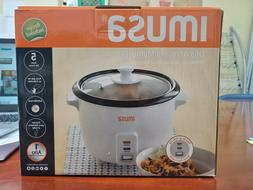 NEW Imusa Rice And Multipurpose Cooker 5 Cups