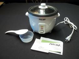 New Aroma Rice Cooker with Warmer Spoon & Measuring Cup