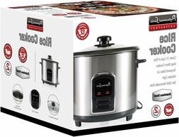 NEW!! Professional Series 12 Cup Stainless Steel Rice Cooker
