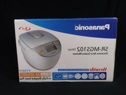 New Panasonic SR-MGS102 5-Cup Electronic Automatic Rice Cook