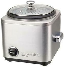 *NEW Cuisinart Stainless Steel Rice Cooker w/Non-Stick Inter