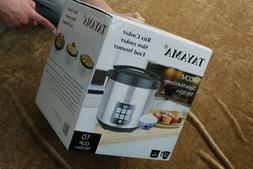 NEW Tayama  TRC-50 Digital Rice Cooker & Food Steamer 5 Cup