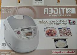 NIB Tiger 5.5-Cup Electric Rice Cooker Warmer Slow Cooker St