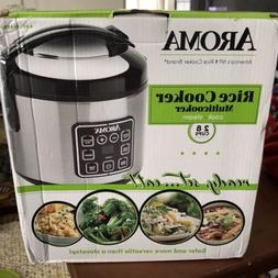 NIB Aroma Housewares ARC-914SBD Rice Cooker Multicooker Stai