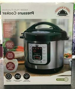 NIB Chef's Kitchen Best Pressure Cooker 1000w Multi-Function