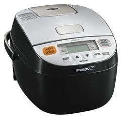 Zojirushi NL-BAC05SB Micom Rice Cooker & Warmer, Silver Blac