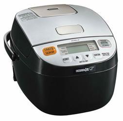 Zojirushi NL-BAC05SB Micom Rice Cooker  Warmer, Silver Black