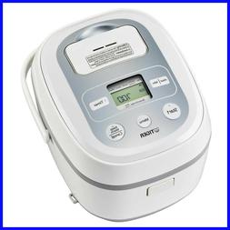 Tiger 5.5-Cup Micom Rice Cooker & Warmer Made in Japan, Slow