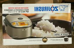 Zojirushi NP-HCC10XH Induction Heating System Rice Cooker an