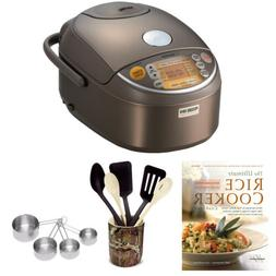 Zojirushi NP-NVC10 Induction Heating Pressure Rice Cooker an