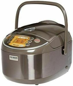 MADE IN JAPAN Zojirushi 10-Cup Pressure Rice Cooker Stainles