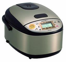 Zojirushi NS-LHC05XT Micom Rice Cooker  Warmer, Stainless Da