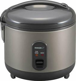 Zojirushi NS-RPC10HM Rice Cooker and Warmer, 1.0-Liter, Meta