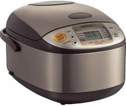 Zojirushi NS-TSC10 5-1/2-Cup  Micom Rice Cooker and Warmer,