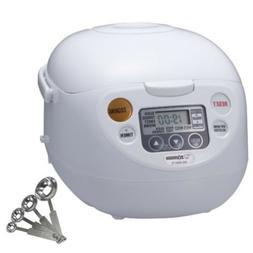 Zojirushi NS-WAC10WB Fuzzy Logic 5.5-Cup Rice Cooker & Warme