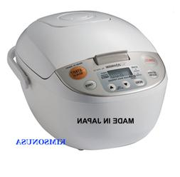 Zojirushi NS-YAC10 Umami Micom Rice Cooker and Warmer, Pearl