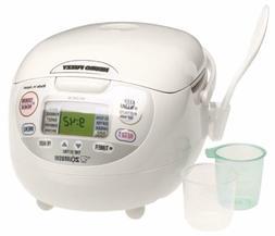 Zojirushi NS-ZCC10 5-1/2-Cup  Neuro Fuzzy Rice Cooker and Wa