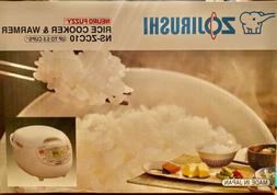 Zojirushi NS-ZCC10 5-1/2-Cup  Neuro Fuzzy Rice Cooker Warmer