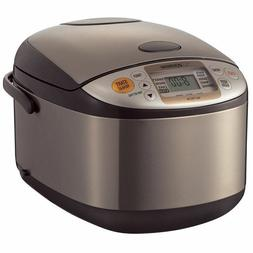 Zojirushi NSTSC10  5 Cups Micom Rice Cooker and Warmer NEW F