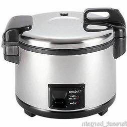 Zojirushi NYC-36 20-Cup Uncooked Commercial Rice Cooker Warm