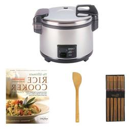 Zojirushi NYC-36 20-Cup Commercial Rice Cooker & Warmer Bund