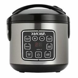 Aroma Housewares ARC-914SBD Digital Rice Cooker and Food Ste