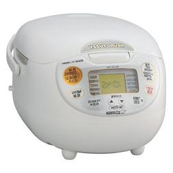 Zojirushi Overseas Microcomputer Rice Cooker Ns-zlh10-wz
