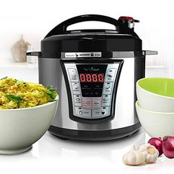 Pressure Cooker/Rice Cooker, Multi-Function Food Prep