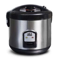 Elite Platinum 20-Cup Rice Cooker Non Stick Removable Pot Au