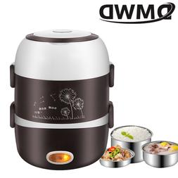 DMWD Portable Electric Heating Lunch Box Mini <font><b>Rice<