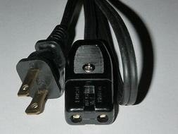 Power Cord for National Rice-O-mat Rice Cooker Model SR-W10N