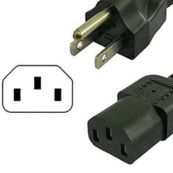 New 3-pin 6ft Power Cord for Aroma Rice Cooker Model ARC-616