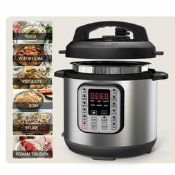 Premium Electric Pressure Rice Cooker 6 Quart Instant Pot Pr