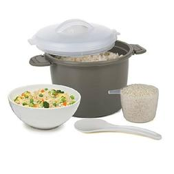Prep Solutions by Progressive PS-96GY Set Microwave Rice Coo