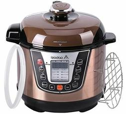 Pressure Cooker 3Qt 8-in-1 Electric Multi-cooker, Rice Cooke