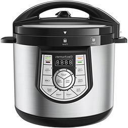 12-in-1 Pressure Cooker 6 Qt Multi-use Programmable Pressure