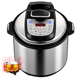 Gtime MultiPot 18-in-1 Programmable Pressure Cooker 6 Quarts