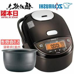 Zojirushi Pressure IH Rice Cooker Extremely Cooked 5.5 Go Co
