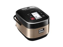 HITACHI pressure & steam IH jar rice cooker  cook) Brown Gol
