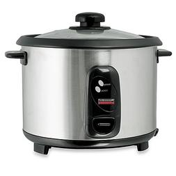 Professional Series 10-Cup Stainless Steel Rice Cooker