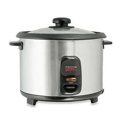 Professional Series 6-Cup Stainless Steel Rice Cooker