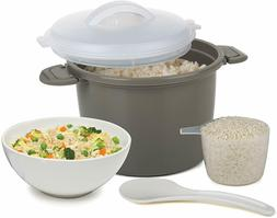 Progressive International PS-96GY Set Microwave Rice Cooker,