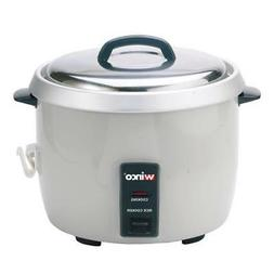 Winco RC-P300 Rice Cooker,electric,30 cup uncooked rice capa