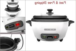 RC506 6-Cup Cooked/3-Cup Uncooked Rice Cooker and Food Steam