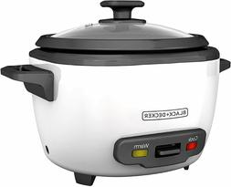 Black & Decker® RC516 16-Cup Rice Cooker with Steamer Ba