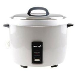Adcraft Countertop Heavy Duty Rice Cooker with Stainless Ste