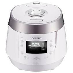 Cuckoo Rice Cooker 10-Cup High Pressure Keep Warm Setting Lo