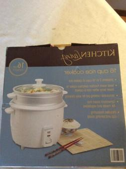 Rice Cooker 2 to 16 Cups With Steam Basket
